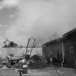 2003 Brand bei Ranseder, Schörfling