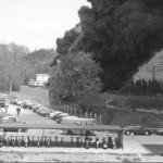 2002 Lenzing AG - Großbrand der Kühltürme