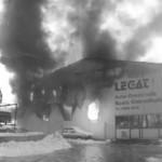 2009 Hallenbrand Firma Legat am 17. Februar