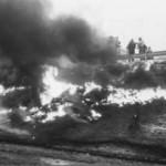 Tankwagenbrand auf der Autobahn